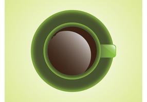 Vector del café