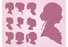 Portraits de silhouette