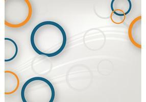 Vector de fondo con círculos