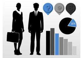 Concepts vectoriels d'entreprise
