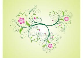 Vector Hibiscus Bloem