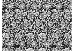 Naadloze Floral Pattern Vector