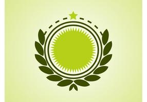 Star Badge Vector