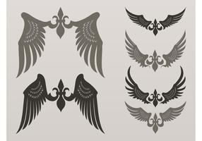Heraldiska Vector Wings