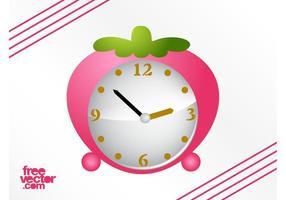 Fresa Alarm Clock Vector