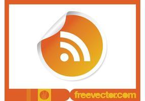 RSS Etiqueta Vector