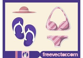 Beach-fashion-vector