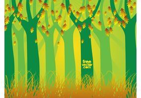 Autumn-forest-vector