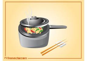 Asiatisches Kochen