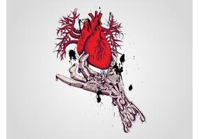 Skeleton Hand Vector