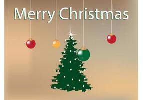 Fond d'arbre de Noël