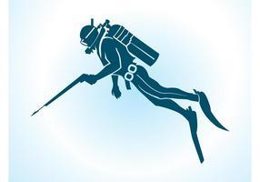 Mergulhador de vetores