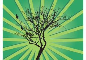 Fondo del árbol del vector