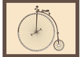 Antique Bike Vector