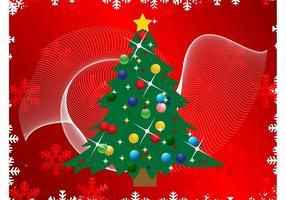 Fondo del vector de la Navidad