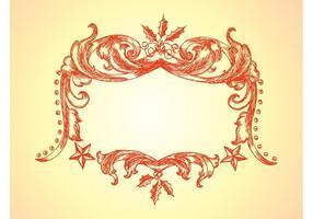 Christmas-frame-vector