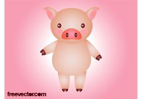 Cartoon-pig-vector
