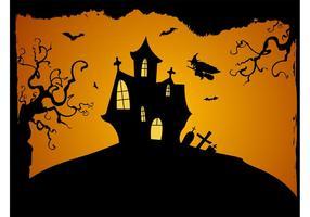 Halloween bakgrundsvektor
