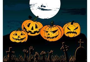 Contexte Vecteur Halloween