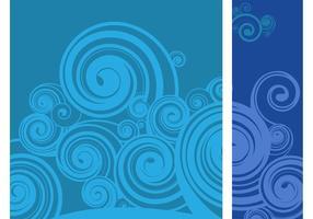 Swirling Bakgrund Vector