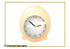 Egg Clock Vector