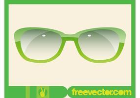 Gafas de sol de gráficos vectoriales