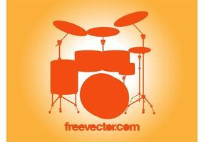 Vector Drum Set