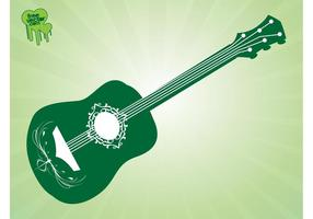 Guitarra vectorial