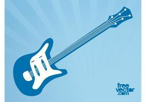 Guitarra elétrica de vetores