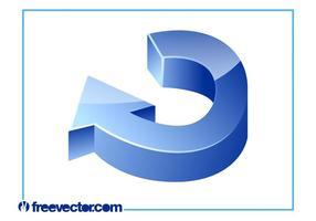 Vektor 3D-pil