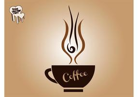 Copo de café vetorial