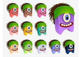 Vector Dreadlocks Personnages