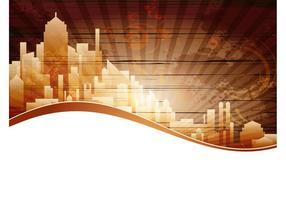 City-background-vector