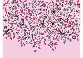 Vector Bloemen Decoraties