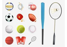 Equipamento de esportes vetoriais