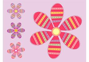 Flowers Vectors Set