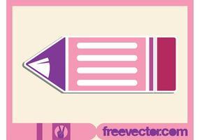 Vector Pencil Sticker