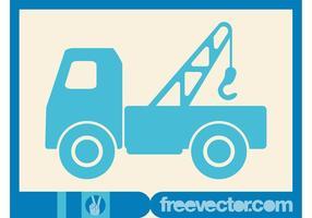 Hooklift Truck Vector