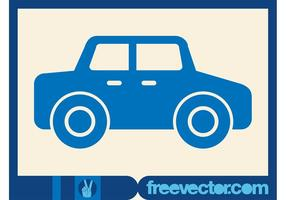 Auto Pictogram Vector