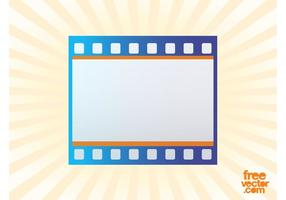 Film Strip Icon Vector