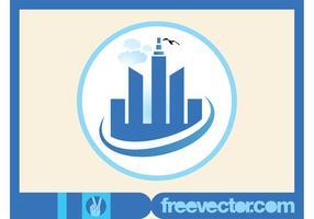 Wolkenkratzer Vektor-Icon
