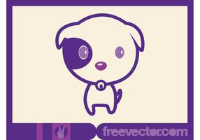 Cute-dog-vector