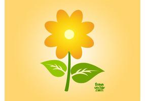 Vector Sunflower Icon