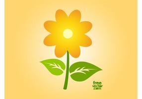 Vector Sunflower Icon