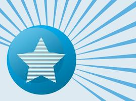 Star Badge Vector Element
