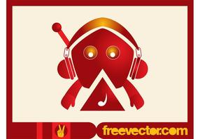 Music-character-vector
