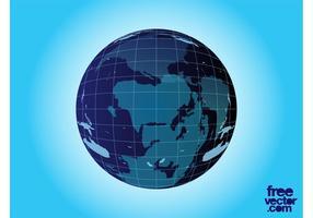 Vektor planet jorden