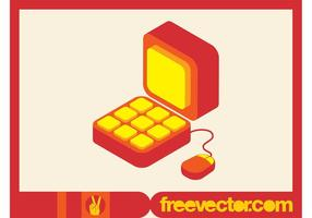 Computer Icon Vektor