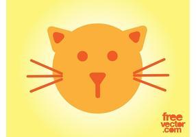 Vetor de ícone de gato