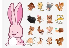 Cute-animals-vector-collection